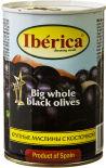 Маслины Iberica крупные с косточкой 420г