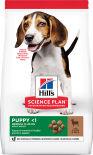 Сухой корм для щенков Hills Science Plan Puppy Medium для средних пород с ягненком 800г