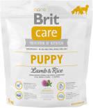 Сухой корм для собак Brit Care Ягненок с рисом для щенков 1кг