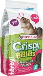Корм для грызунов Versele-Laga Crispy Pellets Chinchillas&Degus для шиншилл и дегу 1кг