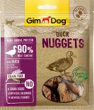 Лакомство для собак GimDog наггетсы утиные для собак 55г