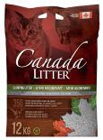 Наполнитель для кошачьего туалета Canada Litter неароматизированный 12кг