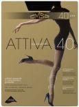 Колготки Omsa Attiva 40 Nero Черные Размер 3