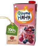 Морс ФрутоНяня Ягодный с 3 лет 500мл