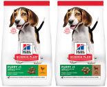 Набор корма для собак Hills Science Plan Puppy Medium для средних пород с ягненком 800г + с курицей 800г