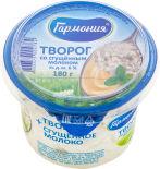 Творог Гармония со сгущенным молоком 6% 180г