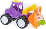 Игрушка Fancy Baby Трактор с грейдером 29см