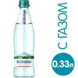 Вода Borjomi минеральная лечебно-столовая газированная 330мл