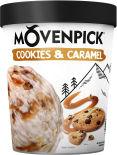 Мороженое Movenpick Пломбир Cookies & caramel 12.7% 298г