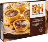 Мини-тарты Baker House Карамельно-арахисовые 240г