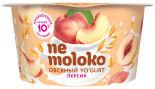 Йогурт Nemoloko овсяный Персик 130г