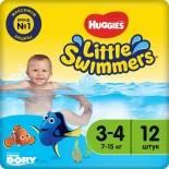 Подгузники-трусики Huggies Little Swimmers №3-4 7-15кг 12шт