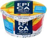 Йогурт Epica с манго и семенами чиа 5% 130г