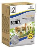 Корм для котят Bozita Kitten кусочки в желе с курицей 190г