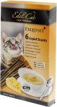 Лакомство для кошек Edel Cat крем-суп Сыр и таурин 90г