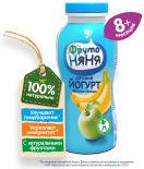 Йогурт питьевой ФрутоНяня Яблоко-банан 2.5% с 8 месяцев 200мл