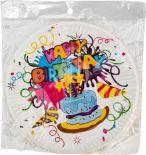 Тарелки бумажные Волшебная страна Happy Birthday 18см*6шт