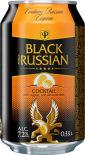 Коктейль Черный Русский Коньяк-Миндаль 7.2% 0.33л