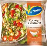 Смесь овощная Vитамин Кус-кус в соусе Марокко быстрозамороженная 400г