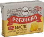 Масло сливочное Рогачевъ Традиционное 82.5% 180г
