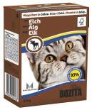 Корм для кошек Bozita Elk кусочки в желе с мясом лося 370г