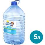 Вода Агуша для детей негазированная 5л