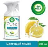Освежитель воздуха Air Wick Pure 5 эфирных масел Цветущий лимон 250мл