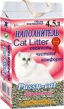 Наполнитель для кошачьего туалета Pussy-Cat древесный 10л