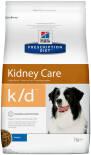Сухой корм для собак Hills Prescription Diet k/d при заболеваниях почек с курицей 2кг