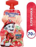 Йогурт Растишка История игрушек Клубника 2.6% 70г