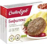 Бифштекс СытоЕдов из говядины с картофельным пюре 350г