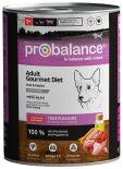 Влажный корм для собак Probalance с телятиной и кроликом 850г