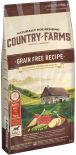 Сухой корм для собак Country Farms Grain Free Reсipe с говядиной 11кг