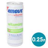 Напиток витаминизированный 4Move Vitamin со вкусом лимона и лайма 250мл