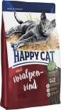 Сухой корм для взрослых кошек Happy Cat Говядина 1.4кг