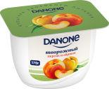 Продукт творожный Danone Персик и абрикос 3.6% 170г
