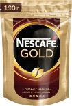 Кофе молотый в растворимом Nescafe Gold 190г