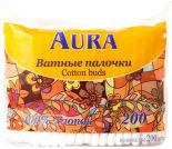 Ватные палочки Aura 200шт