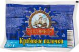 Крабовые палочки Columbus 200г