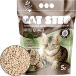 Наполнитель для кошачьего туалета Cat Step Wood Original 5л
