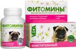 Фитомины для собак Veda очистительный 50г