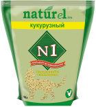 Наполнитель для кошачьего туалета №1 Naturel кукурузный 4.5л