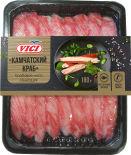 Крабовое мясо Vici Камчатский краб охлажденное 180г