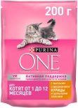 Сухой корм для котят Purina One с курицей и цельными злаками 200г