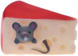 Игрушка для собаки Lilli Pet Мыш в сыре 9.5см