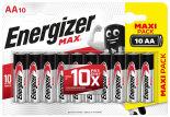 Батарейки Energizer Max АА 10шт