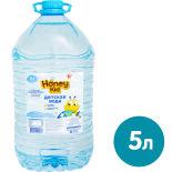 Вода Honey Kid детская негазированная 5л