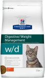 Сухой корм для кошек Hills Prescription Diet w/d при сахарном диабете с курицей 1.5кг