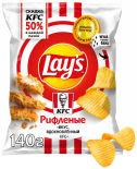 Чипсы Lays Вкус вдохновленный KFC 140г