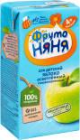 Сок ФрутоНяня Яблочный 200мл